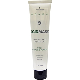 Zion Health, Adama, Acid Mask, Anti-Wrinkle Treatment, 4 oz (113 g)