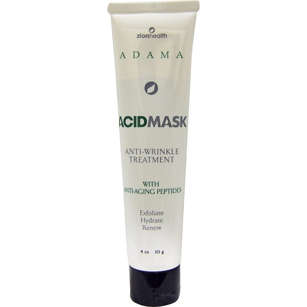 Adama, Acid Mask, Anti-Wrinkle Treatment, 4 oz (113 g)