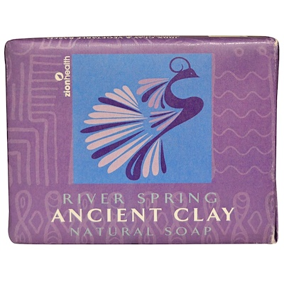Zion Health 古方粘土天然皂,河春,10.5盎司(300克)