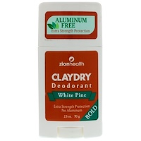 Clay Dry Deodorant, White Pine, Bold, 2.5 oz (70 g) - фото