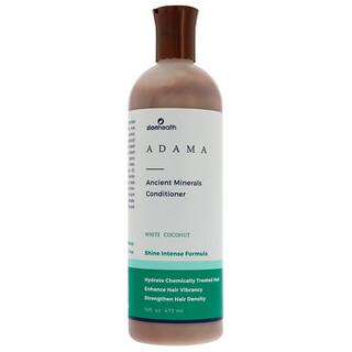 Zion Health, Adama, Ancient Minerals Conditioner, White Coconut, 16 fl oz (473 ml)