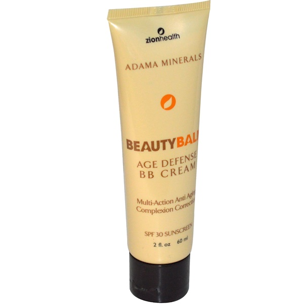Zion Health, Beauty Balm, Natural Mineral Sunscreen, SPF 30, 2 fl oz (60 ml) (Discontinued Item)