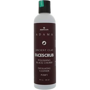 Зион Хэлс, Adama, Ancient Clay, Face Scrub, Polishing Black Cherry, 8 fl oz (236 ml) отзывы