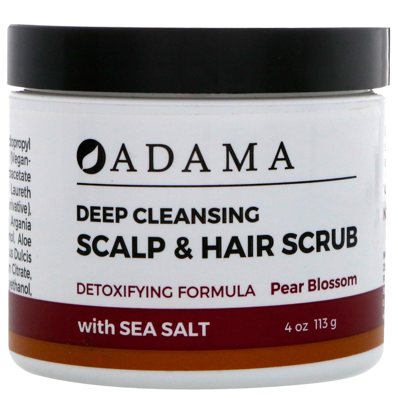 Adama Body Butter Citrus Blossom Zion Health 4 oz Cream alaffia rooibos & shea antioxidant facial cleanser, 3.4 oz