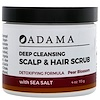 Zion Health, Adama, Deep Cleansing Scalp & Hair Scrub, Pear Blossom, 4 oz (113 g)