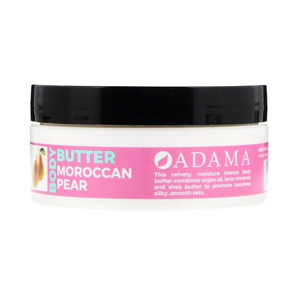 Adama, Body Butter with Argan Oil, Moroccan Pear, 4 oz (118 g)