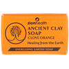 Zion Health, Ancient Clay Soap, Clove Orange, 6 oz (170 g)