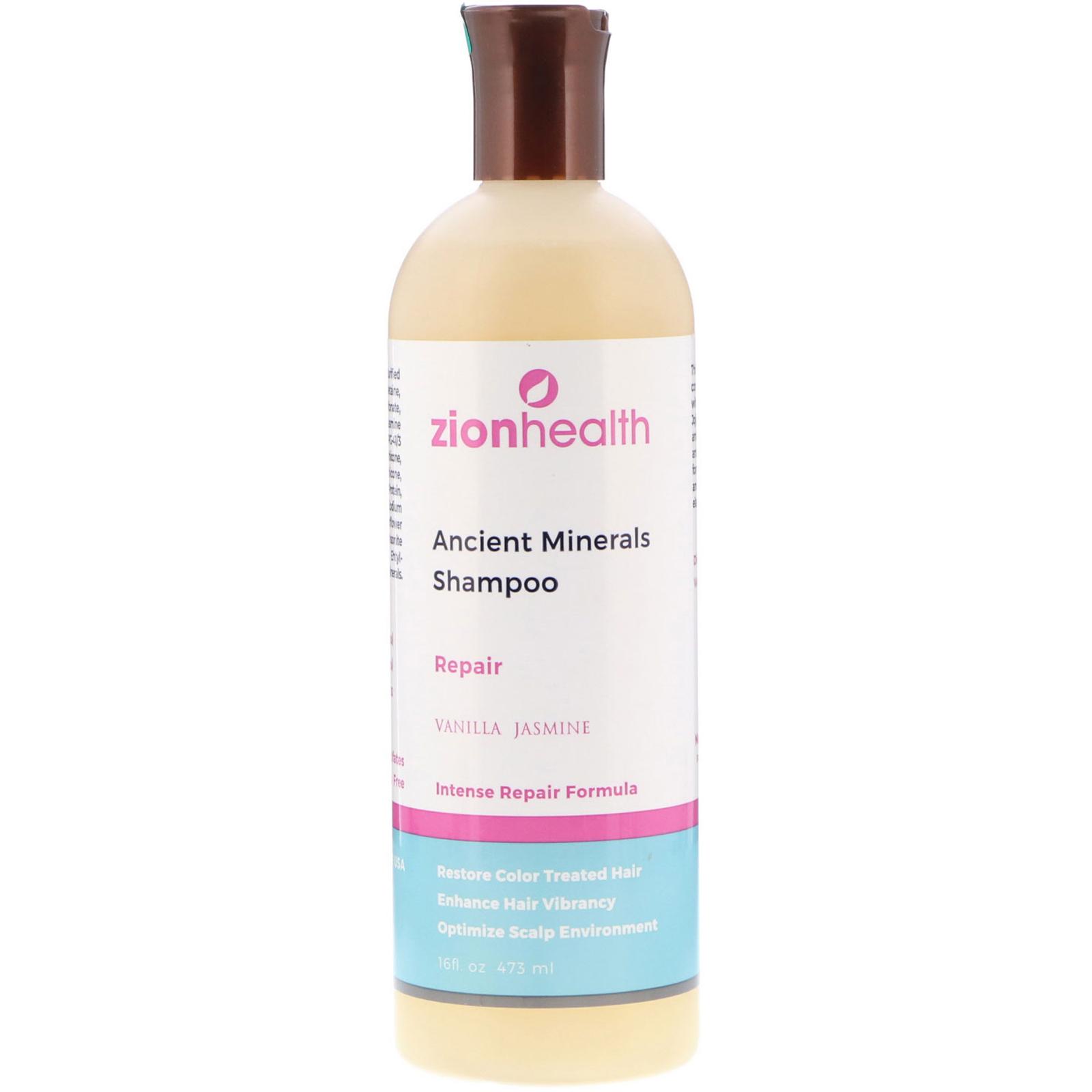 Zion Health, Ancient Minerals Shampoo, Repair, Vanilla