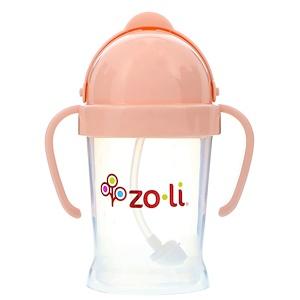 Zoli, Bot, Straw Sippy Cup, Blush, 6 oz отзывы