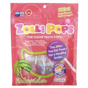 Zollipops, The Clean Teeth Pops, Watermelon, 3.1 oz отзывы