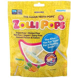 Zollipops, The Clean Teeth Pops, Pineapple, 3.1 oz отзывы