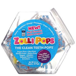 Zollipops, The Clean Teeth Pops, Assorted, 5.2 oz