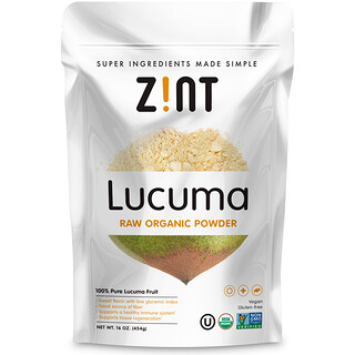 Zint, Lucuma, Raw Organic Powder, 16 oz (454 g)