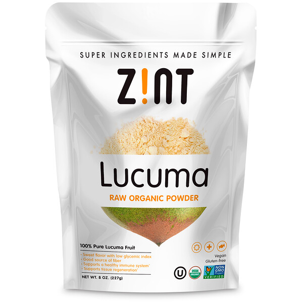 Lucuma, Raw Organic Powder, 8 oz (227 g)