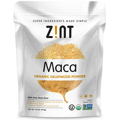 Zint, 瑪卡,有機凝膠粉末,16盎司(454克)