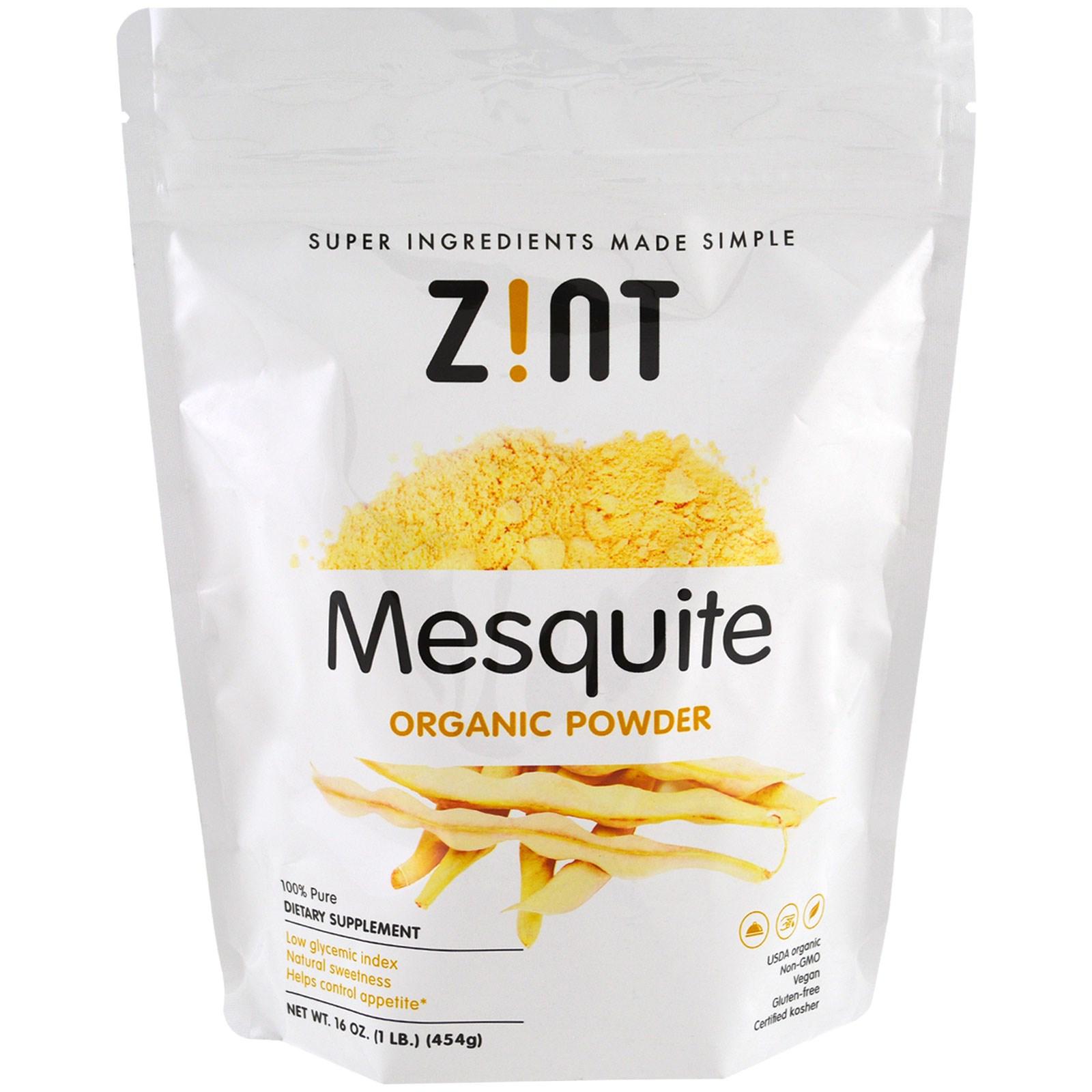 Z!NT, Органический порошок из мескита, 16 унций (454 г)
