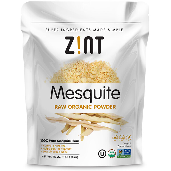 Mesquite Raw Organic Powder, 16 oz (454 g)