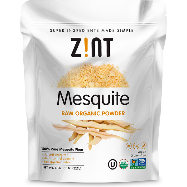 Mesquite Raw Organic Powder, 8 oz (227 g)