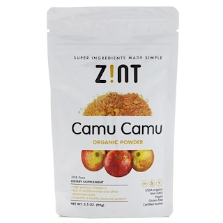 Z!NT, Camu Camu Organic Powder , 3.5 oz (99 g)