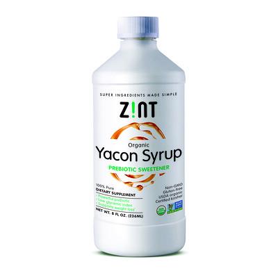 Органический сироп из якона, пребиотический заменитель сахара, 8 жидких унций (236 мл)