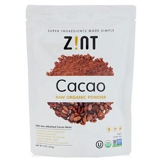Z!NT, Raw Organic Cacao Powder, 8 oz (227 g)