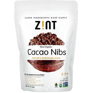 Zint, Raw Organic Cacao Nibs, 8 oz (227 g)