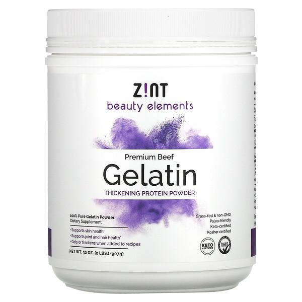 Premium Beef Gelatin, Thickening Protein Powder, 32 oz (907 g)