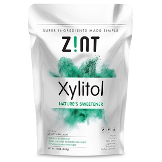 Z!NT, Organic Xylitol, Nature's Sweetener, 10 oz (283 g)