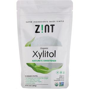 Зинт, Organic Xylitol, Nature's Sweetener, 10 oz (283 g) отзывы