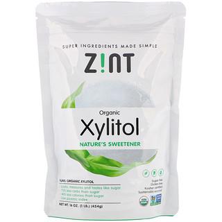 Zint, Organic Xylitol, Nature's Sweetener, 16 oz (454 g)