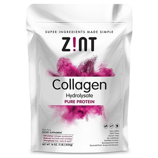 Z!NT, Collagen Hydrolysate, Pure Protein, 16 oz (454 g)