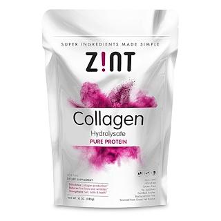 Z!NT, Collagen Hydrolysate, Pure Protein, 10 oz (283 g)