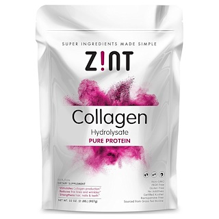 Z!NT, Collagen Hydrosate, Pure Protein, 32 oz (907 g)