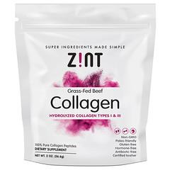 Zint, Grass-Fed Beef Collagen, Hydrolyzed Collagen Types I & III, 2 oz (56.6 g)