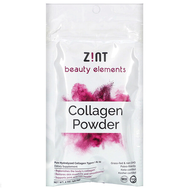 Zint, Collagen Powder, 2 oz (56.6 g)