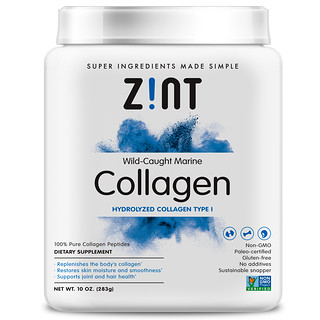 Zint, Wild-Caught Marine Collagen, Hydrolyzed Collagen Type I, 10 oz (283 g)