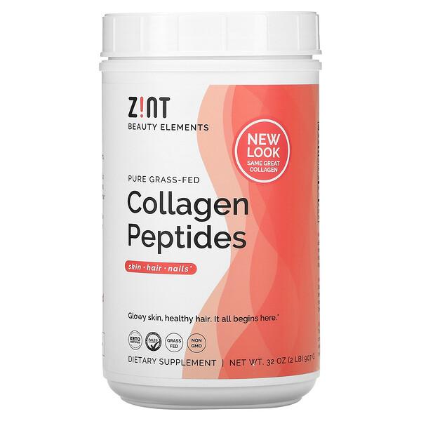 Péptidos de colágeno puro proveniente de animales alimentados con pasturas, 907g (2lb)
