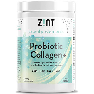 Zint, Probiotic Collagen +, For Skin, Hair, Nails, Gut, 14.39 oz (408 g)