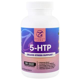 Zenwise Health, 5-HTP, Deluxe Stress Support, 120 Veggie Caps