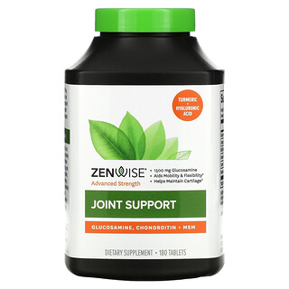 Zenwise Health, Joint Support, 180 Tablets