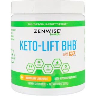 Zenwise Health, Keto-Lift BHB, Beta-Hydroxybutyrate, Raspberry Lemonade, 8.18 oz (232 g)