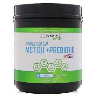 Zenwise Health, Каприловая кислота (C8), масло со среднецепочечными триглицеридами + пребиотики с Go MCT, 15,87 унц. (450 г)