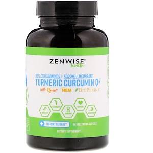 Зенвайз Хэлс, Turmeric, Curcumin Q+ with Qmin+ & Nem & BioPerine, 90 Vegetarian Capsules отзывы
