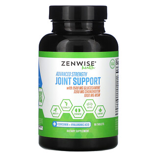 Zenwise Health, Advanced Strength Joint Support, 90 Tablets