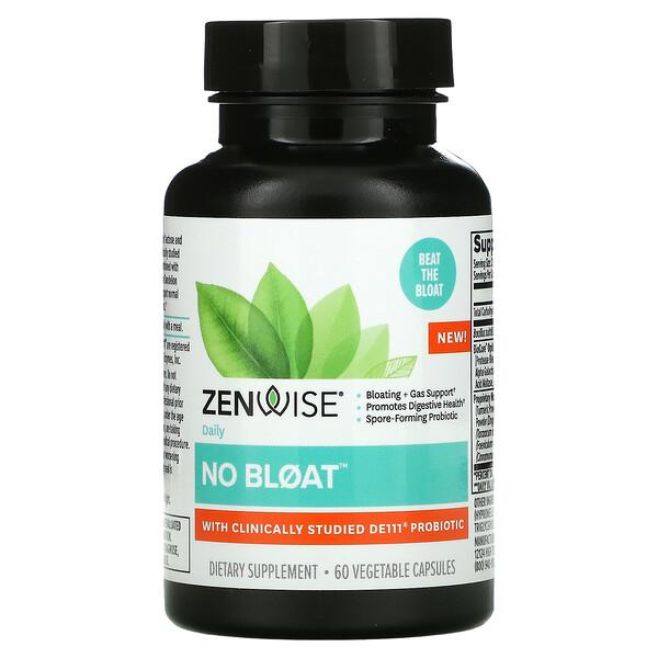 No Bloat with DE111 Probiotic, 60 Vegetable Capsules
