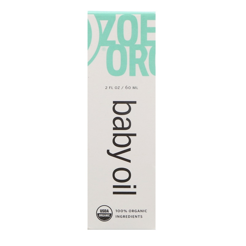 Organic Baby Oil, 2 fl oz (60 ml)