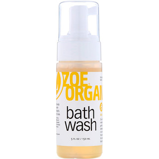Zoe Organics, Bath Wash, 5 fl oz (150 ml)