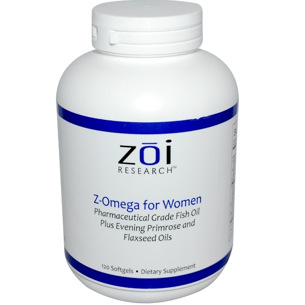 ZOI Research, Z-Omega for Women, 120 Softgels (Discontinued Item)