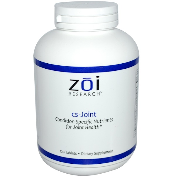 ZOI Research, cs-Joint, 120 Tablets (Discontinued Item)