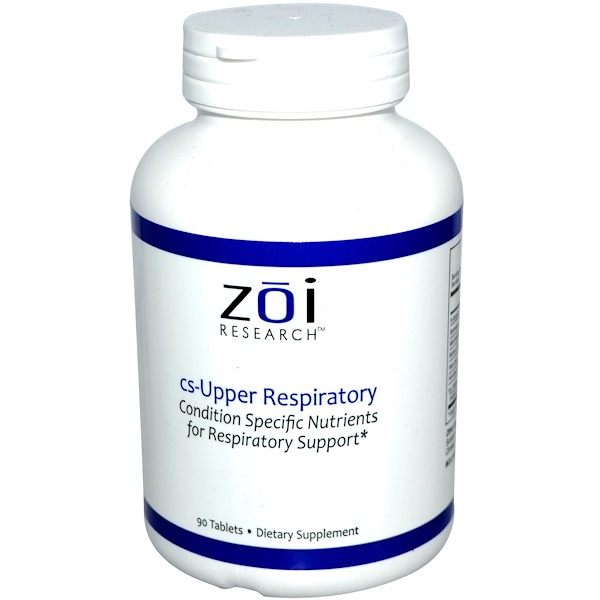 ZOI Research, Upper Respiratory, 90 Tablets (Discontinued Item)